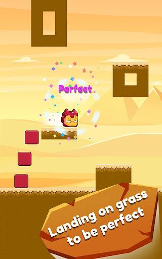 Cat Jumping: Kitten Up, Square Cat Run, Kitten Run 1.2.37 screenshots 1