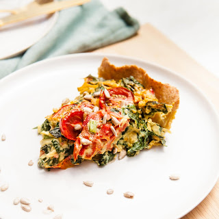 Spinach Sun Dried Tomato Quiche Recipes