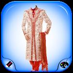 Men Sherwani Dress Photo Maker