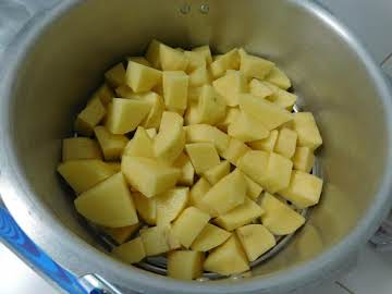Cubed Potatoes (Pressure Cooker)