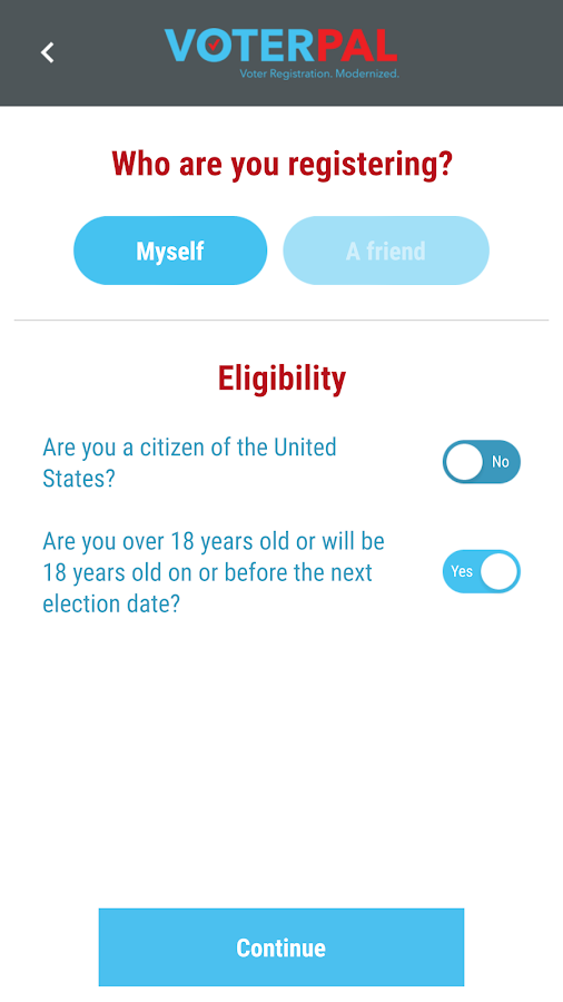 VoterPal- screenshot