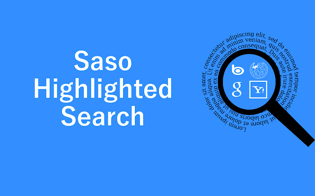 Saso Highlighted Search