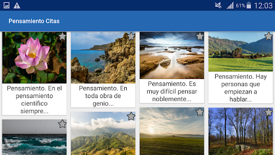 Download Pensamiento Citas y frases famosas For PC Windows and Mac apk screenshot 7