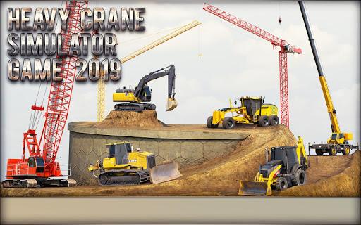 Heavy Crane Simulator Game 2019 u2013 CONSTRUCTIONu00a0SIM 1.2.5 screenshots 2
