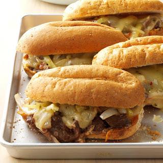 Tex-Mex Cheesesteak Sandwiches Recipe