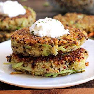 Broccoli and Quinoa Breakfast Patties.