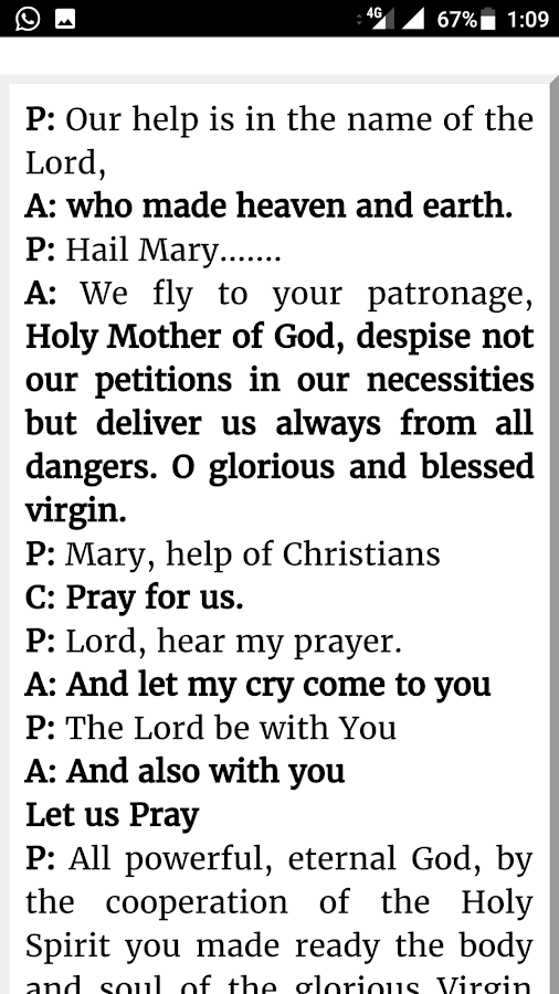Salesian Prayers- screenshot