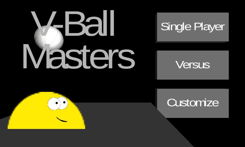 Скриншот V-Ball Masters