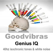 Genius Iq Development (40hz Isochronic Tones & White Noise)