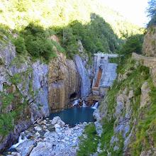 Photo: Una presa sobre el río Estós.
