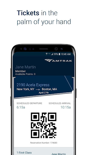 Amtrak screenshot