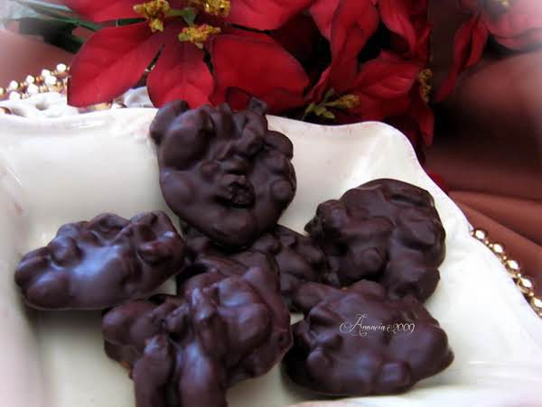 Chocolate Drops With Fruits And/or Nuts Recipe