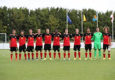 La Belgique U17 s'incline contre Chypre