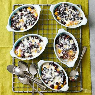 Blueberry-Peach Gratin