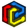 Cube Connect - 3D Flow icon