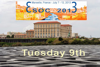 Photo: esoc 2013 : tuesday 9th of july : Hello, it is 2:30 am around. The Tuesday 9th, second day of esoc. You will find lectures and oral communication in the order of schedule. The special event was the Patai session for its 50th anniversary. The first poster session with a wine and cheese party took place at the end of day. The dinner of the international board of esoc with the local committee followed. I need to sleep. See you … jacques
