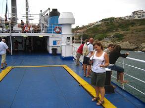 Photo: Corsika'ya feribot.  Ferry to Corsika .
