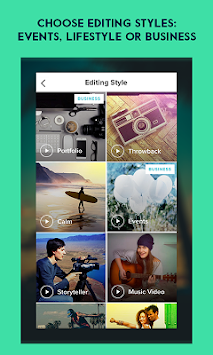 Magisto Editor De Vídeo E Foto APK screenshot thumbnail 4