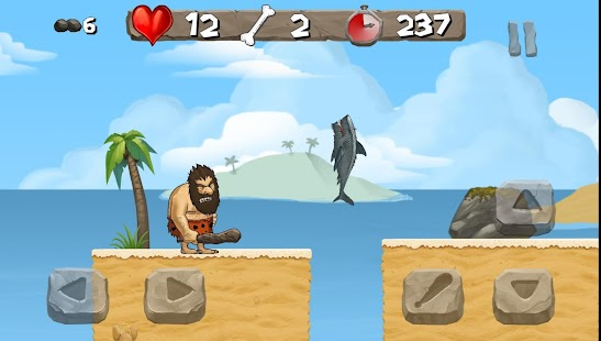 Caveman Chuck Adventure Screenshot
