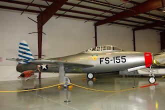 Photo: Republic F-84E Thunderjet