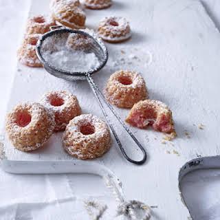 Mini Marzipan Kugelhopf Cakes.