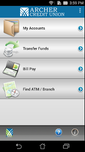 Archer CU Mobile Banking- screenshot thumbnail