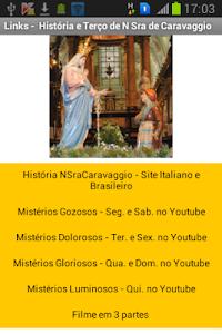 Nossa Senhora de Caravaggio screenshot 0