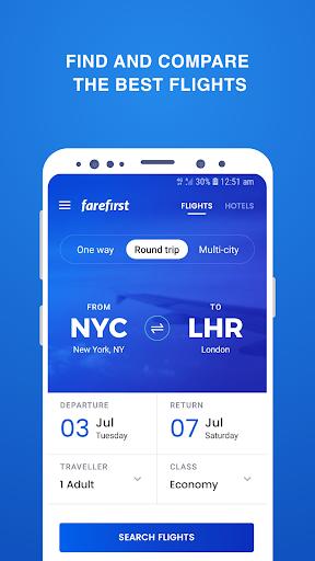 Cheap Flights - FareFirst 3.1.1 screenshots 1