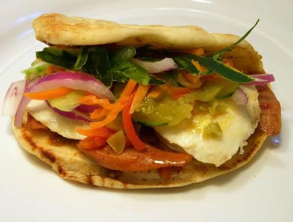 Breakfast Naan Bahn Mi Recipe