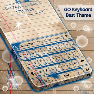 Best Theme For GO Keyboard - náhled