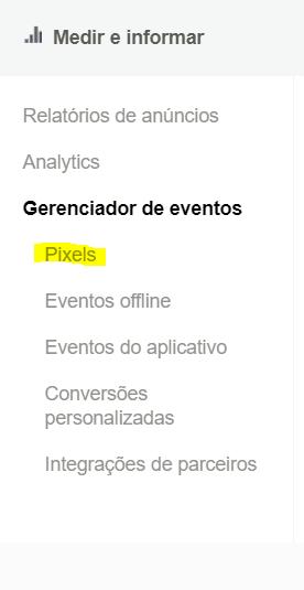 como colocar pixel facebook