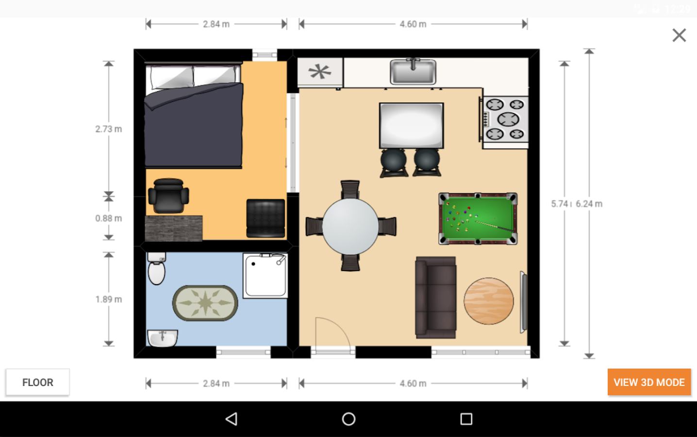Floorplanner- screenshot