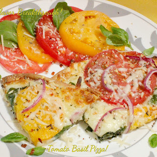 Tomato Basil Pizza!