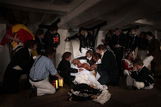 Photo: Nelson died in great pain but, until the end, asked for news of the battle
