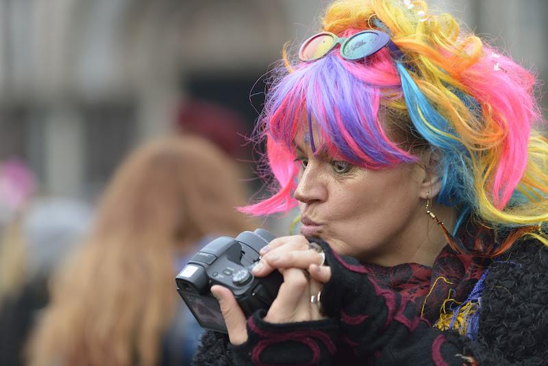 Un selfie multicolore!!!!! di Matteo Faliero
