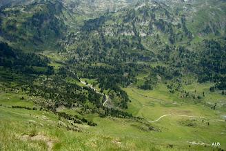 Photo: Los fondos del valle.