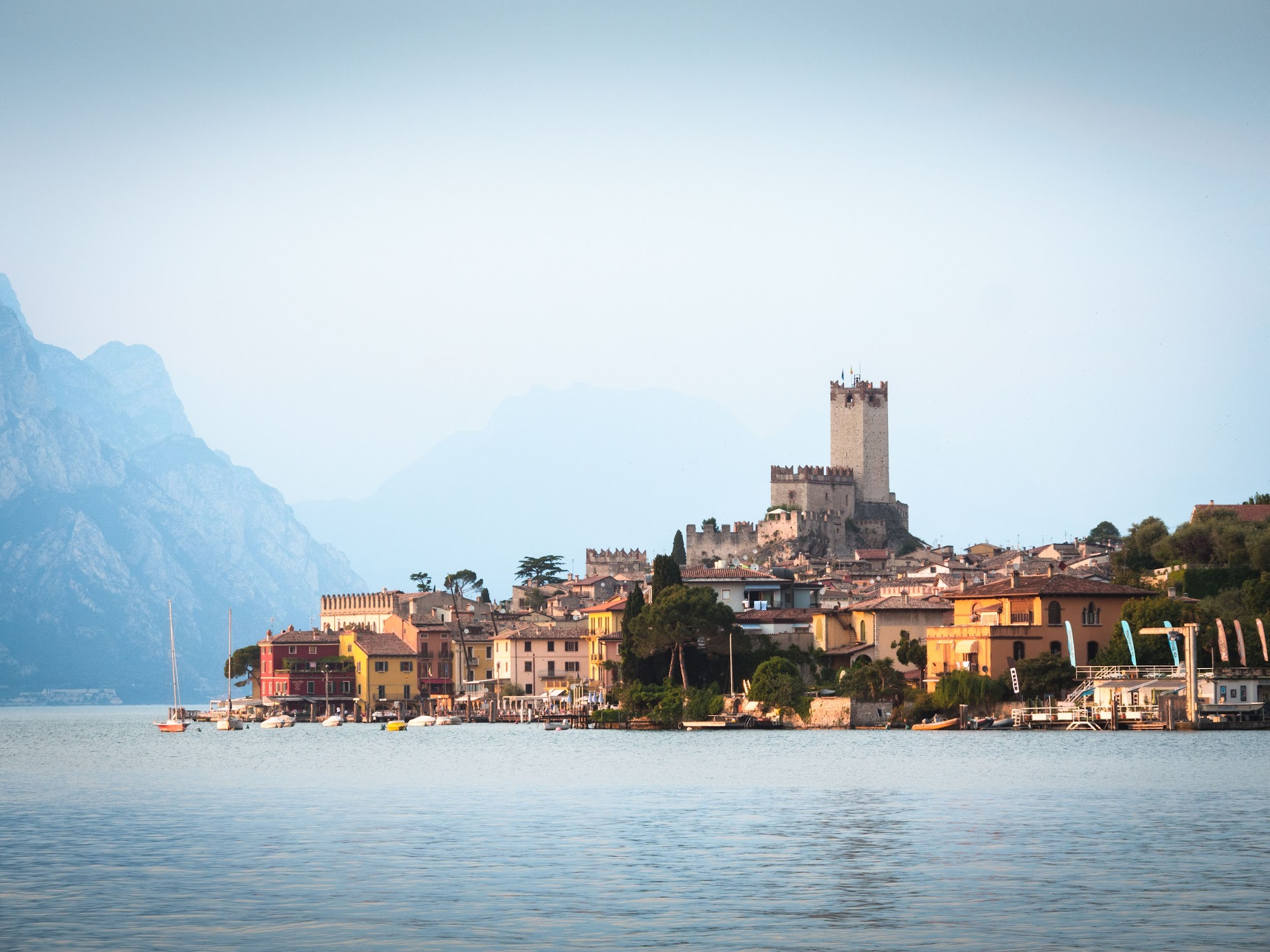 Malcesine by Lake Garda is a small resort town worth visiting during your trip to Northern Italy