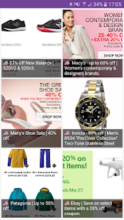 Deals! - Brands, Sales, Shops & Outlet Shopping - náhled