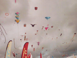 Photo: The sky full with kites