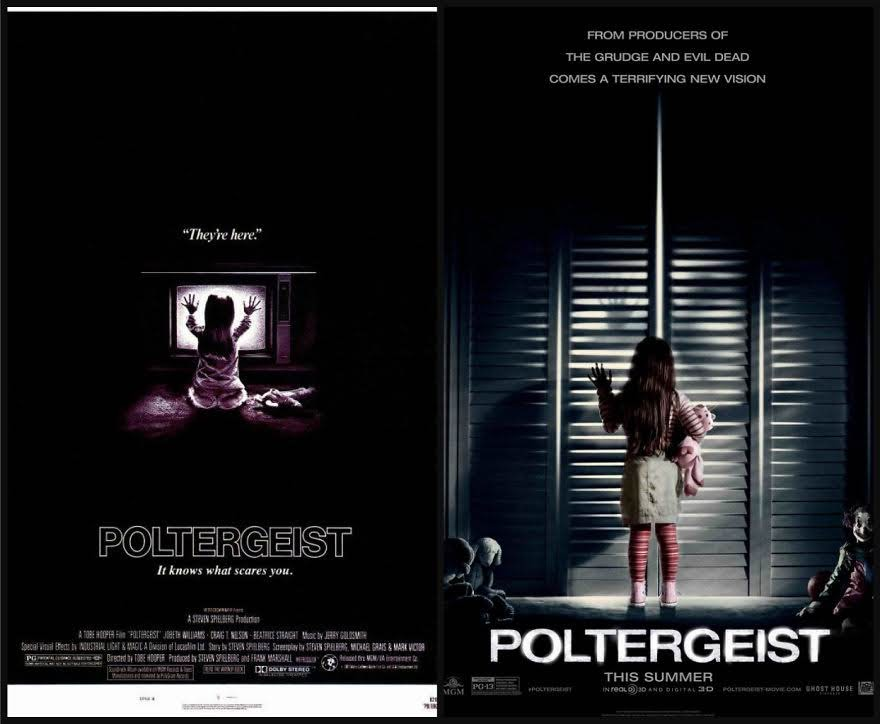 Poltergeist plakaty