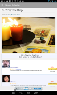 Online Divination and Magick- screenshot thumbnail