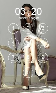Selena Gomez Lock Screen - náhled