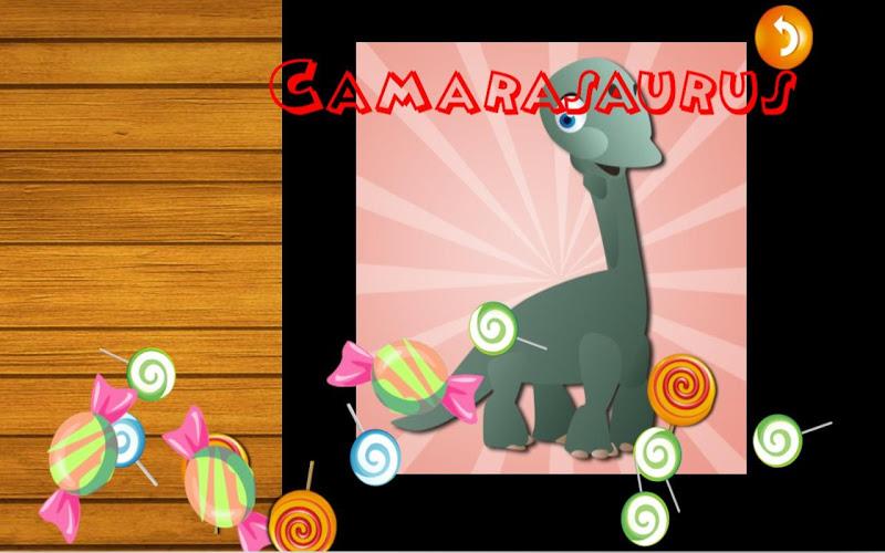 Скриншот QCat Toddler Dino Puzzle