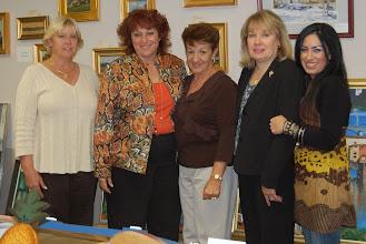 Photo: Pat, Jenny, Joyce, Barbara, Crista