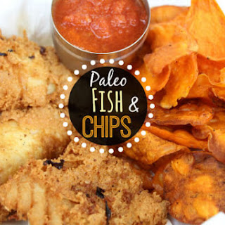 Paleo Fish and Chips.