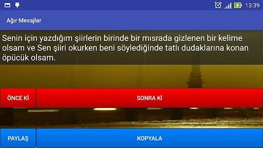 Ağır Mesajlar screenshot 10