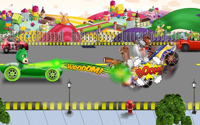 Road Pj Battle Masks Green - screenshot