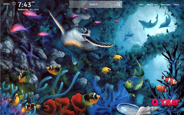 Sea Turtle Wallpapers New Tab
