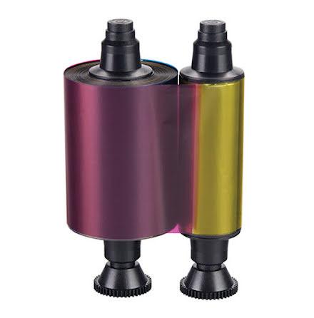 Färgband Evolis Dualys - YMCKOK - 200 dubbelsidiga utskrifter