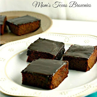 Mom's Texas Brownies, grain free.